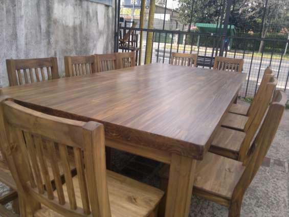 Mesa grande ideal quincho