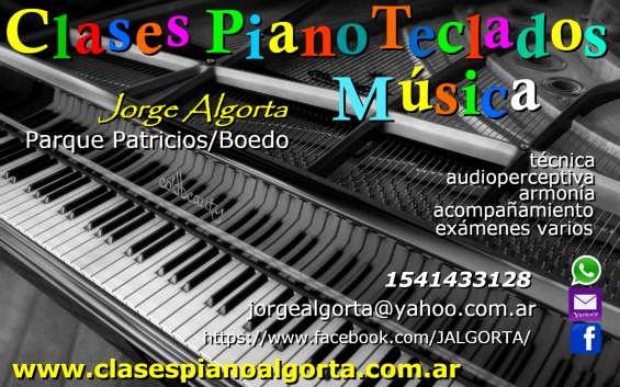 Piano órgano teclados