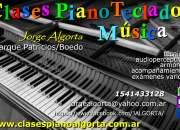 piano teclados clases