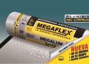 Membrana megaflex no crack x 40kg impermeabiliza …