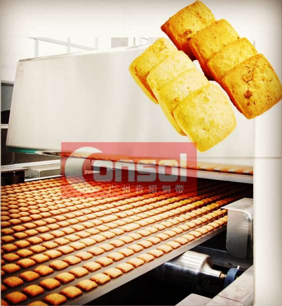 Carbon steel belt tunnel oven belt bakery biscuits line maquinas y hornos para horno tune