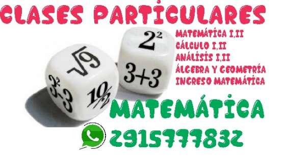 Clases particulares matematica uns utn