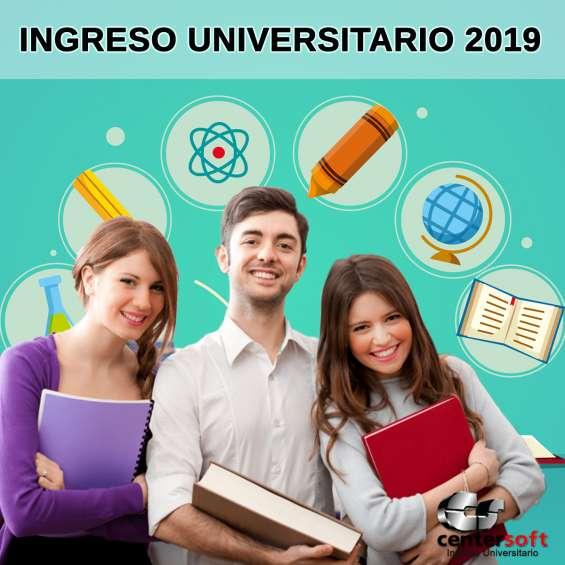 Ingreso univeristario 2019