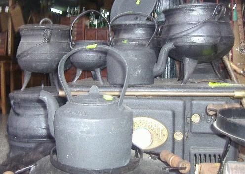 Pava de fundicion de hierro