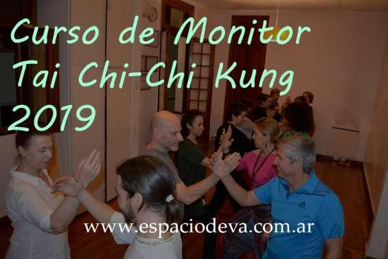 Curso de monitor tai chi-chi kung en palermo 2019