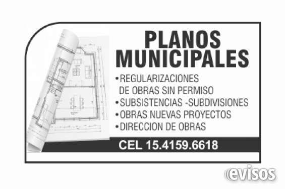 Planos municipal oeste construcción