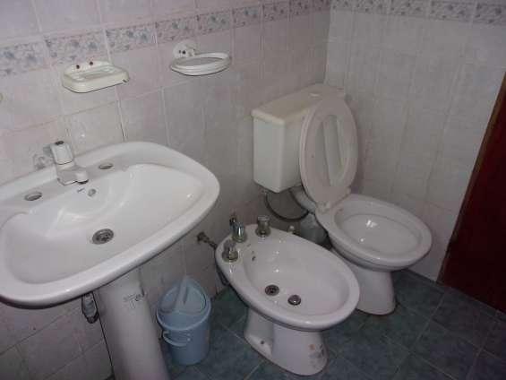 Baño duplex