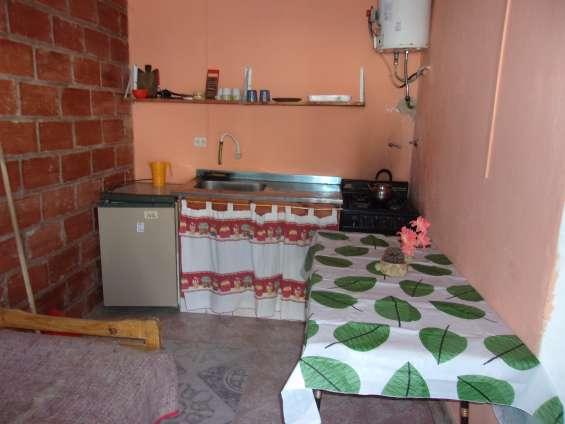 Cocina departamento para 3 personas