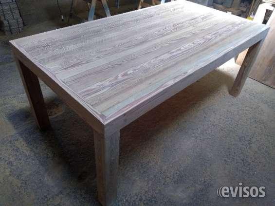 Mesa de pinotea modelo asia