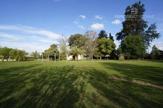 Fernandez peoppel vende terreno 7,5 ha. coquimbito maipu