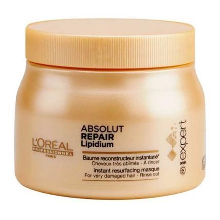 Baño de crema para reparar el cabello. salon carolinas