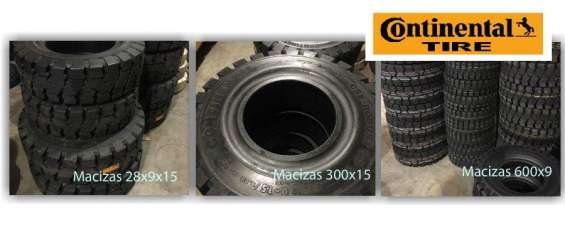 Fotos de Cubierta maciza 650x10 650 x 10 autoelevadores rodamarsa continental 4