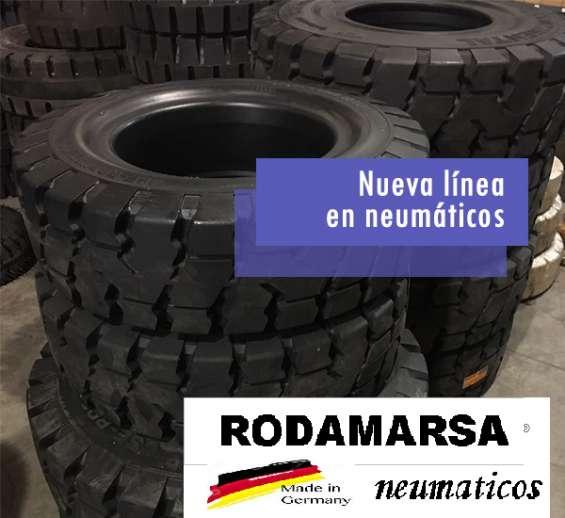 Fotos de Cubierta maciza 650x10 650 x 10 autoelevadores rodamarsa continental 3