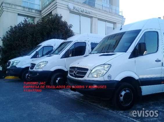Turismo jac empresa de combis y minibuses