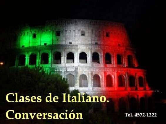 Clases de italiano - villa pueyrredon - devoto