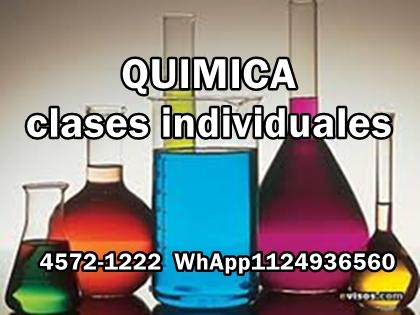 Clases de química - villa pueyrredon - devoto