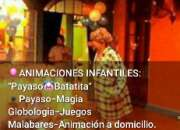 Payaso batatita animaciones infantiles mago charly globologia bs as