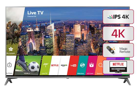 """Smart tv 49"""" lg 49uj6560 nuevo en caja cerrada"""