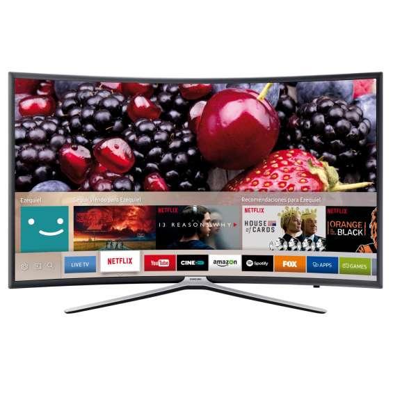Smart tv 55 samsung full hd un55k6500 curvo netflix youtube