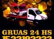 15-22192233 Grúas Plancha Traslados y Acarreos 24HS