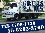 15-62823760 Grúas Plancha Remolques y Traslados 24HS