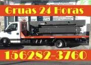 15-62823760 Grúas Plancha Remolques y Traslados las 24HS