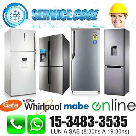 Tecnico heladeras whirlpool carga de gas aire service reparacion 1534833535