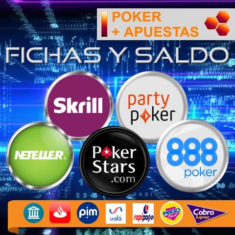 Compra/venta fichas pokerstars - saldo neteller/skrill 2019