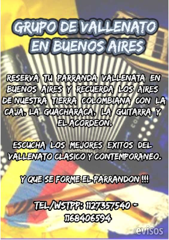 Parrandon vallenato argentina