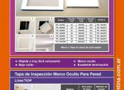 Tapas de Inspección Marco Oculto para Cielorraso. Rosario
