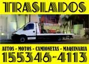servicio de acarreo traslados 24hs 46562781