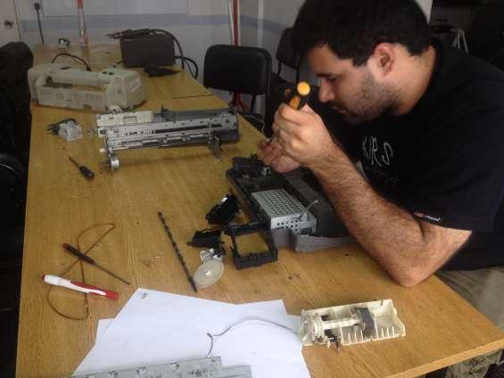 Curso grupal reparación de impresoras