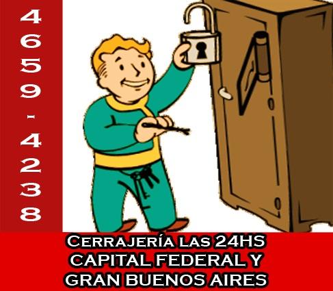4781-1590 cerrajería 24hs - cerrajeros a domicilio en la paternal