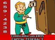 4781-1590 Cerrajería 24HS - Cerrajeros a domicilio en Nueva Pompeya