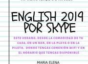 Ingles a domicilio o por skype