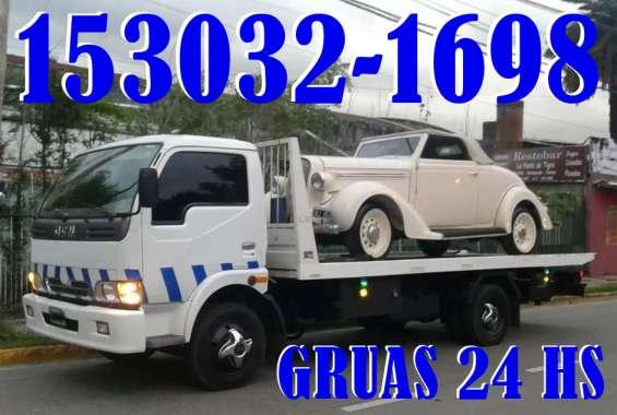15-30321698 grúas camilla auxilio mecánico remolques y traslados las 24hs - merlo
