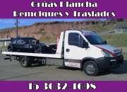 15-30321698 Grúas Plancha Auxilio Mecánico Traslados y Acarreos 24HS - General San Martín