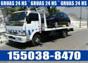 15-50388470 Grúas Camilla Traslados y Acarreos las 24HS - Villa Tesei