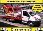 15-53067312 Grúas Plancha Remolques y Traslados 24HS - Castelar