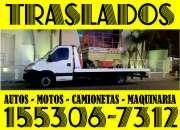 15-53067312 Grúas Camilla Auxilio Mecánico Remolques 24HS - Isidro Casanova