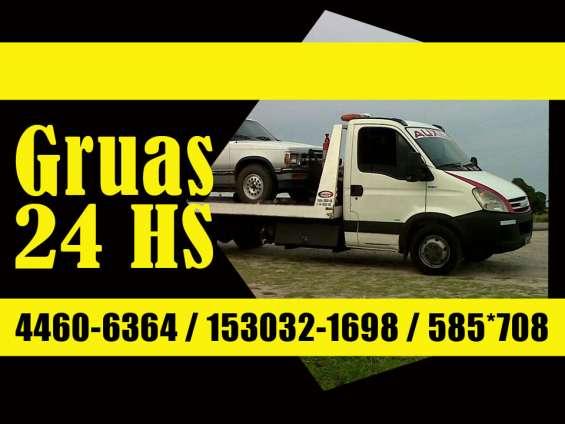 Servicio de traslados remolques 24hs 46562781