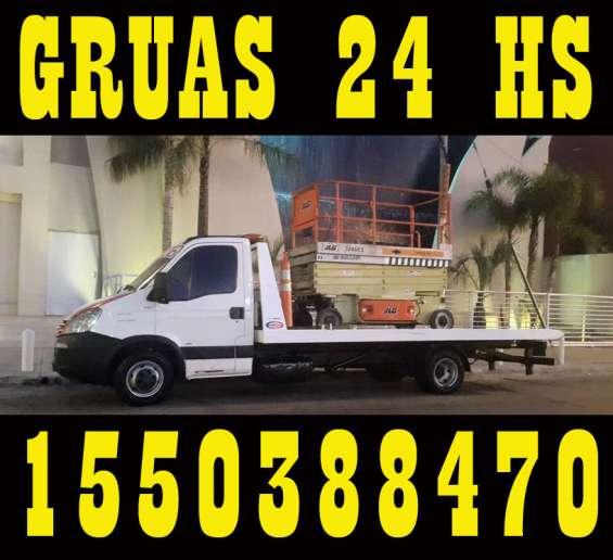 15-50388470 grúas camilla auxilio mecánico remolques 24hs - pablo podestá