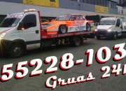 15-52281032 Grúas Plancha Remolques y Traslados 24HS - Moreno