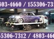 15-53067312 Grúas Plancha Auxilio Mecánico Remolques 24HS - Paso del Rey
