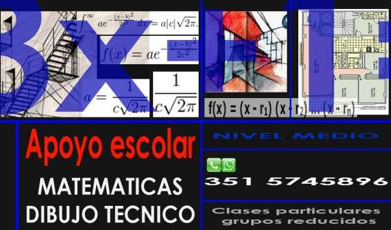 Profesor de matemáticas y dibujo técnico