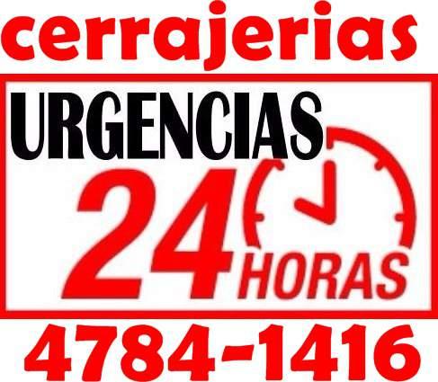 4781-1590 cerrajería las 24hs - cerrajeros a domicilio en monte castro