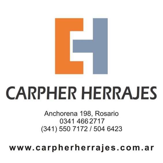 Carpher herrajes