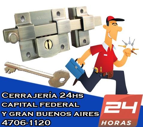 4781-8480 cerrajería las 24hs - cerrajeros a domicilio en villa pueyrredón