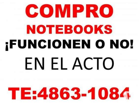 Compro notebooks netbooks funcionen o no te: 4863-1084