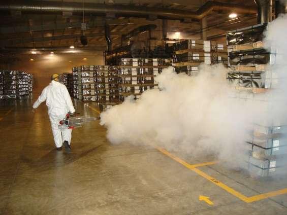 Desinsectación, desinfección y fumigacion 114071-7034